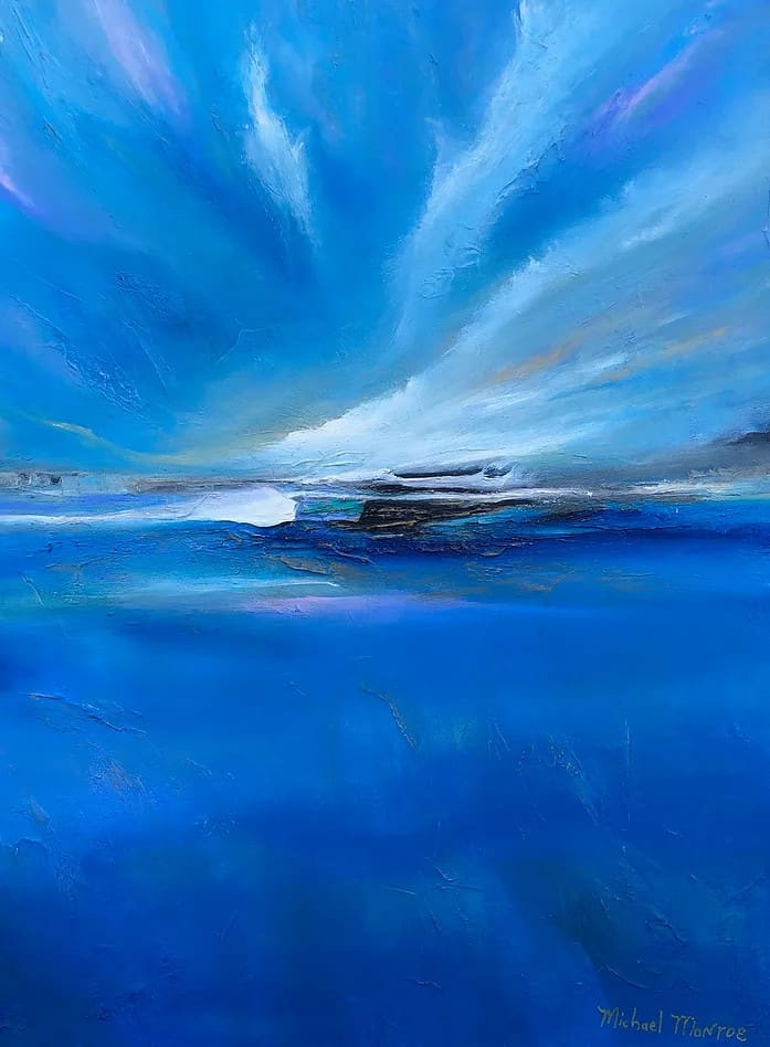 canvas artwork by Michael Monroe